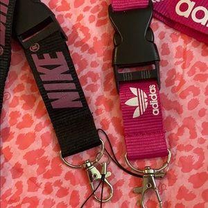 Nike Accessories - MIXED 5 lanyard BUNDLE